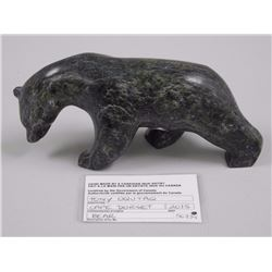 Original Stone Carving Circa 1994 - Seal on Base - with C.O.A. Gallery: $480.00 6x4x2