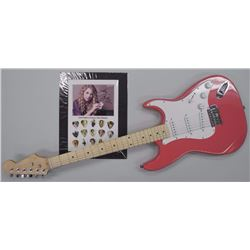 'Taylor Swift' LE Guitar Pick Display and New 'PINK' Electric Guitar