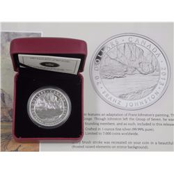 'Franz Johnston' 2013 - .9999 Fine Silver $20.00 'The Guardian of the Gorge' with C.O.A. / LE
