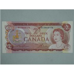 Bank of Canada 1974 - Two Dollar Note GEM UNC