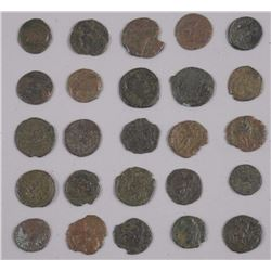 25x Ancient Roman Coins - Clean, up to 200 years old (ATTN: 25 Times the bid price)