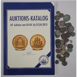 45x Ancient India Coins with Reference Book(ATTN: 45 Times the bid price)