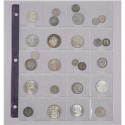 26x Estate Historic and Numismatic Silver World Coins (ATTN: 26 Times the bid prices)