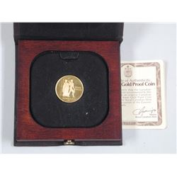 Canada 1976 - $100.00 Gold Coin - 22kt with C.O.A. and Case 'estate'