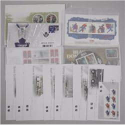 Lot of Stamps - Superman, Guess Who, Hockey and Stamps