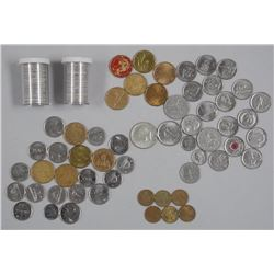 Approx (109) Estate Lot Coins. Includes: (61) 1973 RCMP 25 Cent, 15 Special Issue 25 Cent, 6 Special