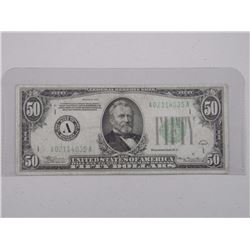 1934 Series USA Fifty Dollar Note