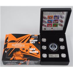 NHL All Star Collector Set. Complete with Special edition Stamps and Coins. 'NEW'