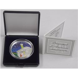 Bon Nadal - Merry Christmas 2011 Proof 925 Silver Coin. LE/2500 with C.O.A. (SRR)