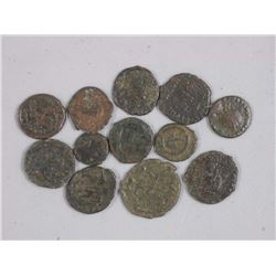12x Ancient Roman Coins - HONORIUS (393-423 CE) (ATTN: 12 Times the bid price)