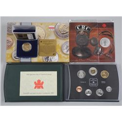3x RCM Issues - 2000 Specimen Coin Set, 1995 Loon Dollar and CBC Coin and Folio (ATTN: 3 Times the b