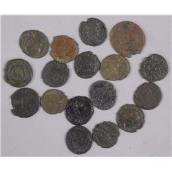 17X Ancient Roman Bronze Coins - Valentinian I (364-375 CE) (ATTN: 17 Times the bid price)