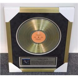 Cheap Trick - Gold Record in Colour. Gallery Frame