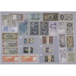 Lot of Approx 36 Banknotes. Includes Several Notgeld emergency money