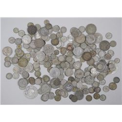 1 Kilo - Mixed World Silver Coins - Historic Numismatic .800-.925 Silver - Avg '862. Silver'