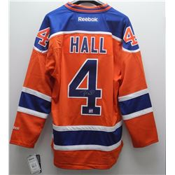 Taylor Hall - Oilers Jersey signed with C.O.A.