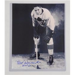 TML 'Red Horner' Hall of Fame 1965 - 8x10 Signed