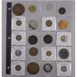 20x Estate - Mix Silver Coins, Medals, Tokens, Historic etc (ATTN: 20 times the bid price)
