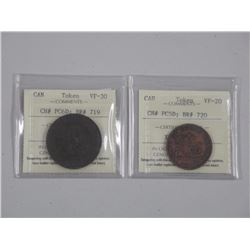 2x Estate Tokens - CH# PC5D- VF20 'ICCS' and CH# PC6D VF30 'ICCS' (GR) (ATTN: 2 Times the bid price)
