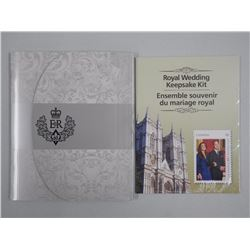Royal Wedding Keepsake Stamp Collections