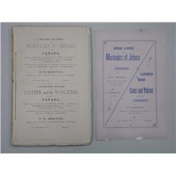 'Original' Coins and Tokens Book. P.N. Breton Dated - Montreal 1894
