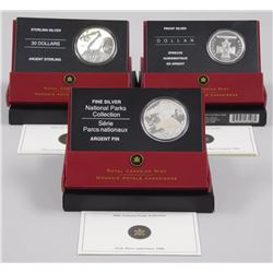 3x RCM 2006 Issues - Sterling Canadian, 2006 Proof Dollar, 2006 National Park (ATTN: 3 Times the bid
