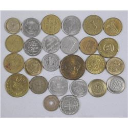 25x World Tokens and Medals. Mix of Countries (ATTN: 25 Times the bid price)