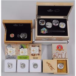 RCM - 'Warner Bros' 'Looney Tunes' - Watch and Coin Collection with Case. (3) $10.00, (5) $20.00 - .