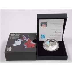 2010 A Celebration of Britain 5L silver Proof Coin with C.O.A