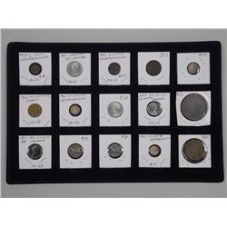 15x Estate - Numismatic Coins, Tokens, Medals (ATTN: 15 Times the bid price)