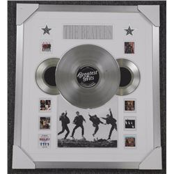 'The Beatles' Platinum Record Collector Frame with Album Covers. Gallery Frame 26x30""