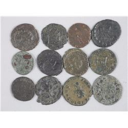 12 Ancient Roman Coins - Claudius II aka Claudius Gothicus. 268 to 270. During his reign he fought s
