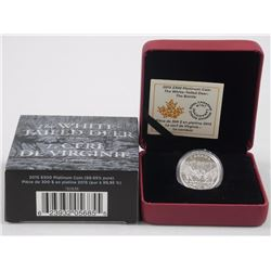RCM Issue - 2015 - $300.00 99.9 Pure Platinum Coin 'The White Tailed Deer' (OXRR) LE with C.O.A. (20
