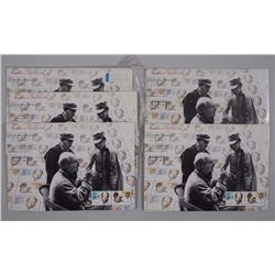 Lot (5) 'Norman Bethune' Mint Postage Stamps
