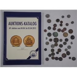 45x Ancient 'Indian States' Copper and AR Coins -Very Rare. Estate Lot Unsearched (ATTN: 45 Times th