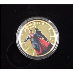 2016 - $100.00 Gold Coin 'Batman and Superman' 'Dawn of Justice' with RCM Collector Case