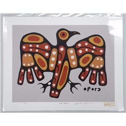 Christian Morrisseau (1969-) 'All of the Colours Collection 2016' 'Great Thunder' Serigraphic - Low