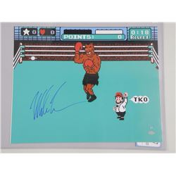'Mike Tyson' Boxing Punch Out Video Game, 16x20 Photo. Signed with C.O.A.