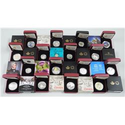 20x RCM .999 Fine Silver Collector Coins, SOLD OUT and Archived Issues. Several Archived and not ava