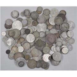 (1) Kilo of Silver World Collector Coins - Mixed From a Large Collection.