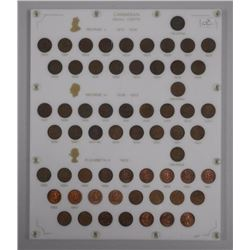 Canada 'Very High Quality' Small Cent Collection w/ Key Dates (1922-1925). (KXR).