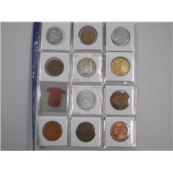 12x Estate - Coins, Tokens, Medals etc with Silver (ATTN: 12 Times the bid price)