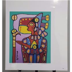 Christian Morrisseau (1969-) Artist Proof Litho 'Shaman Artist' 32/45 Artist Proof - Family Edition