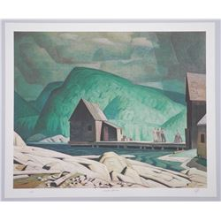 A.J. Casson (1898-1992) Ontario II Litho 'Sunshine After Rain' 20x24 Unframed. Rare Artist Proof # 2