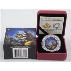 'RCM' 2015 - .9999 Fine Silver $25.00 Coin Star Charts - 'The Wounded Bear' High Technology, LE with