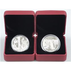 2x 925 Silver Proof Dollars: 2002 and 2014. Estate (ATTN: 2 Times the bid price)