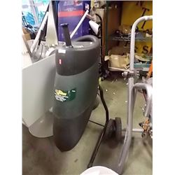YARD WORKS ELECTRIC GARDEN SHREDDER