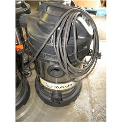 KUBOTA STAINLESS AND BLACK SHOP VAC