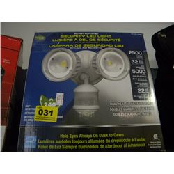 MOTION ACTIVATED SECURITY LED LIGHT