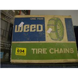 WEAVE TIRE CHAINS